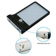 36 LED Outdoor Waterproof Light Solar Powered Motion Sensor Garden Security Lamp Black 180*110*30mm 4W
