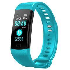 Waterproof Smart Bracelet Watch 115 Plus Blood Pressure Monitoring Heart Rate Monitoring Smart Green One