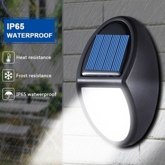 10 LED Automatically Turns On Solar Power Wall Garden Lighting Safety Light Outdoor Waterproof Light 10 led 13.0 cm * 8.0 cm * 5.0 cm 2(W)