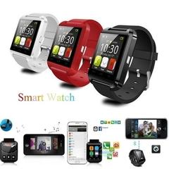 U8 Bluetooth Smart Watch Sport Wristwatch Smartwatch IOS Android iPhone Samsung Infinix Camera Black one size