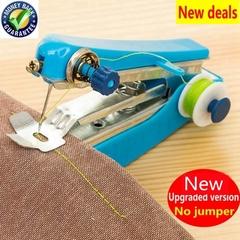 Creative Home Mini Manual Small Sewing Machine Portable Mini Hand Sewing Machine Tool Random Color Random color one size