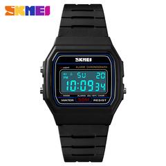 Skmei Men's Quartz Watch Sport Watches Luxury Fashion Sport Wristwatches Waterproof Male Clock Blue one size