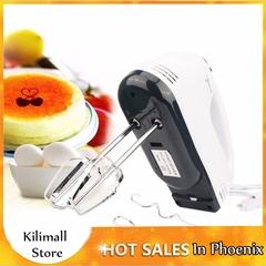 Phoenix 7 Speed Dough Hand Mixer Egg Beater Food Blender Multifunctional Electric Kitchen Mixer White 4.33*2.8*7.09inch