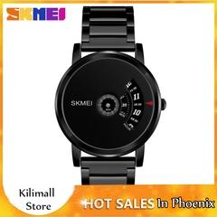 Skmei Men's Quartz Watch Sport Watches Luxury Fashion Business Wristwatches Waterproof Male Clock Black one size