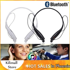 HBS730 Bluetooth Headset Sports Bluetooth Headphone With Mic For Smartphone iPhone HUAWEI Infinix Black