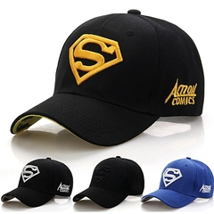 Men's Fashion Senior Men Quality Baseball Facecap/Face Cap With Adjustment Strap.LOOK MORE SMART Black 56-60cm