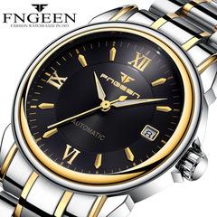 FNGEEN Wrist Watch Men Male Luxury Quartz Stainless Steel Wristwatches Gentlemen Valentines Gift #1 one size