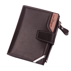 HENGSHENG Valentine's Gift-High Quality Vintage Men Wallet-Leather Luxury Short Male Clutch Wallet #1 one size