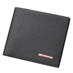 HENGSHENG Valentine's Gift-High Quality Vintage Men Wallet-Leather Luxury Short Male Clutch Wallet Black(short) one size