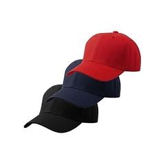 3 Packs Of Unisex Dope Face Caps Men Women Washed  Baseball Vintage Adjustable Hats Black&Blue&Red Adjustable