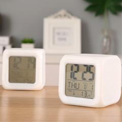 Alarm Clock LED Electronic Colorful Multi-function Mini Alarm Cock Electronic Gifts Creative Clocks