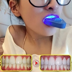 Teeth Cold Whitening Instrument Lights Oral Interdental Healthy Teeth Care Blue