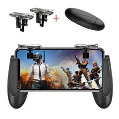 Mobile Game Controller Upgrade Version Trigger Survival Grip Joysticks for PUBG/Fortnite/Rules Black one size