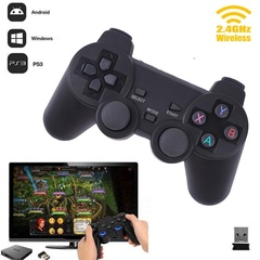 Universal Wireless Smart Gamepad Game Controller For Android Smart Phone/PS3 PlayStation 3/TV Box Black one size