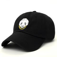 Finely Processed Unisex Men Women Hip Hop Hat Snapback Panda Cap Cool Baseball Cap Adjustable Black Adjustable(54-62cm)
