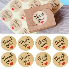 120x Thank You Stickers Labels Sealing Craft Wedding Favours Letters Card Gifts As picture shows one size