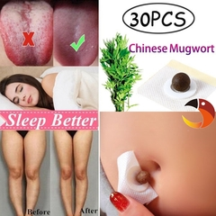 Chinese Mugwort Navel sticker Weight Loss Belly Patch Cold Uterus Irregular Stomach Discomfort As picture shows