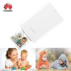 10 Sheets HUAWEI Pasteable Photo Paper Photographic Pocket Paper Paste for Smartphone Photo Printer Photo printer with 10pcs printer paper One size
