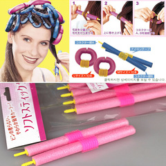 12Pcs Curler Makers Soft Foam Bendy Twist Curls Tool DIY Styling Hair Rollers Random 12pcs