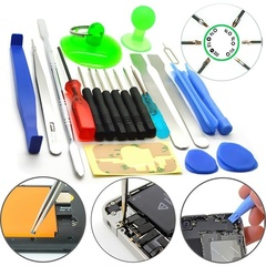 Professional 21 in 1 Phone Repair Opening Disassemble Tool Kit Phillips Screwdriver Set For Laptop As picture shows 21 pcs