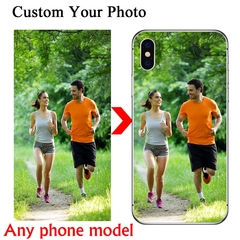 Custom Personalized Phone Case For iPhone 6 7 8 Plus X 11 Pro XS MAX Cover Customized Design Picture Frosted phone case ipone 6/6s