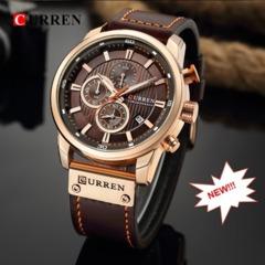 CURREN Watch Luxury Top Brand Men Waterproof Watches Men's Army Military Watch Man Quartz Clock Black&Blue one size