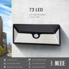 73 LED Solar Light Solar Power PIR Motion Sensor Outdoor LED Garden Light Waterproof Wall Lamp 73LED 250*105*60(mm) 8(W)