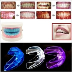 Teeth System Teens & Adult / A retainer+Box Rectify Orthodontic Straight Purple