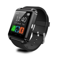 Bluetooth U8 Smart Watch WristWatch for Android Phones/Iphones;Iphone Samsung S4/Note Black one size