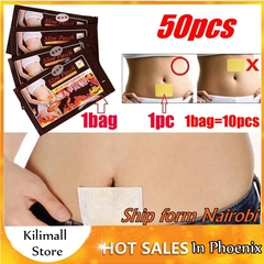 50pcs Beauty Fast Body Slimming Sticker Lose Weight Patch Weight Loss Fat Navel Stick Burning Fat 50pcs