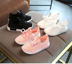 Phoenix Outdoor High Quality Kids Shoes New Style Breathable Mesh Sports Shoes Pink 26