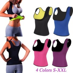 Lover-beauty Waist Trainer Vest Hot Shaper Summer Shaperwear Slimming Adjustable Sweat Belt Black s