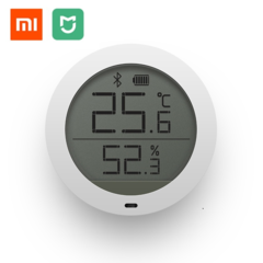 Xiaomi Mijia Bluetooth Temperature Smart Humidity Sensor LCD Screen Digital Thermometer Moisture White one size