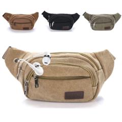 Men Waterproof 1000D Nylon Sling Chest Waist Tactical Military Hip Bum Belt Messenger Shoulder Purse Coffee one size
