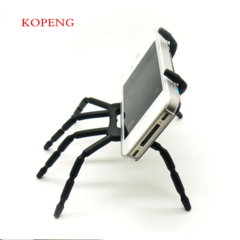 Multi-function Car Mobile Phone Holder Spider Stents Lazy bracket Stand For All Phone Support random black one size