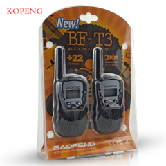 Walkie Talkie   Mini  Ultra-distant Intercom Electronic Portable Two-Way Communications equipment black