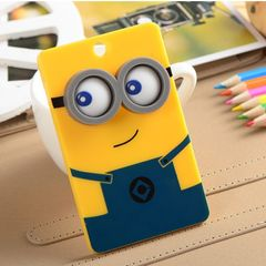 Little yellow man cartoon character key chain card pack hot anime fashion accessories Little yellow man 10*6 cm