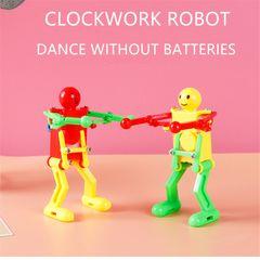 Children's toy clockwork robot dancing twisting ass funny 1 Pcs