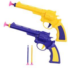Children's Toy Gun Safety Family Entertainment Educational Parent-Child Shooting game random 1 pcs gun+3 pcs bullets