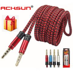 1.5M Professional Audio Cable AUX High Quality Jack Phone Computer MP3 Audio Headset Dedicated 1.5m