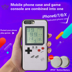 Tetris game console and mobile phone shell for Apple iPhone 6\7\8 solution decompression new gameboy