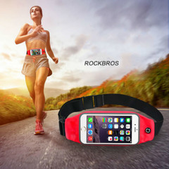 Multi-function outdoors bags for men and women hiking fitness running reflective waterproof bag pack Red one size
