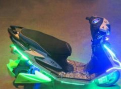 Motorcycle Universal Flexible LED Light Bar Strip