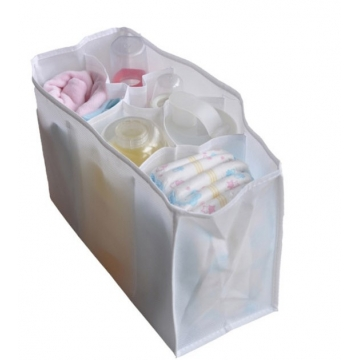 White Baby Diaper Nappy Changing Bag Liner Lining 3 Sizes White Large SIze