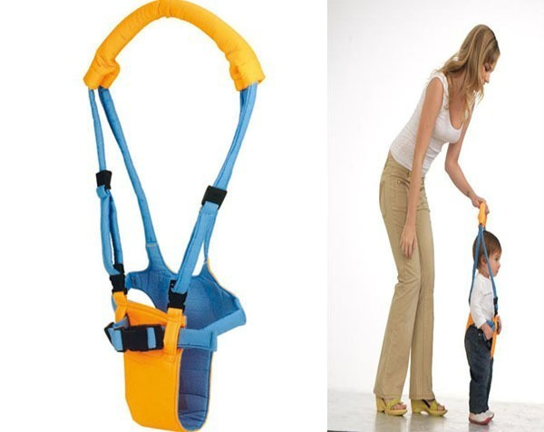 Baby Toddler Walk Learning Assistant Harness Walker Yellow one size