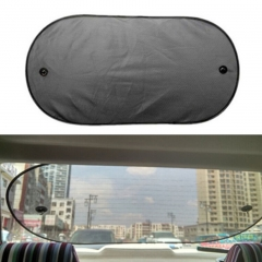 Baby Car Rear Window Sunshade Blind Stopper Screen black one size