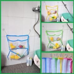 Baby Bathroom Bath Net Toy Tidy Storage Bag Organiser color random one size