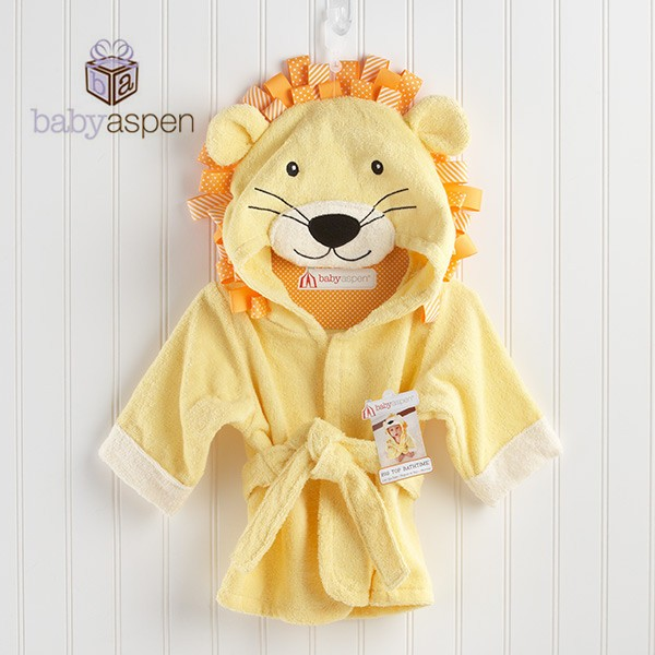 Kilimall: Yellow Lion Baby Boy Girl Dressing Gown Splash Wrap Bath ...