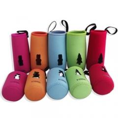 Baby Pram Stroller Nursing Feeding Bottle Warmer Holder Clip Cover 7 x 10 CM red one size