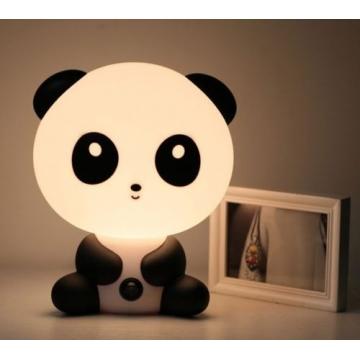 Baby Kids Room Decoration Nursery Bedside Panda LED Lamp Night Light black 10 8w